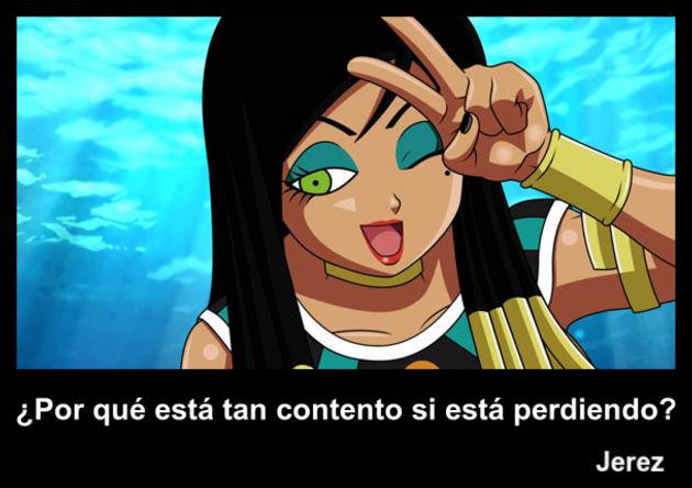 jerez | Frase Dragon Ball