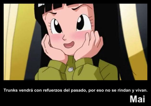 mai | Frase Dragon Ball