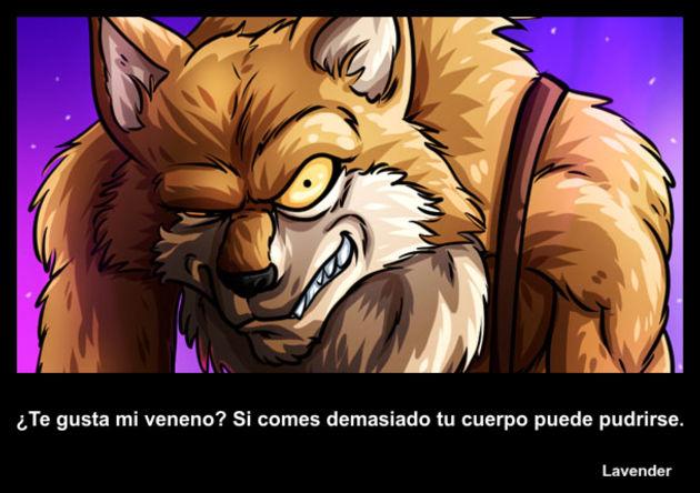 lavender | Frase Dragon Ball
