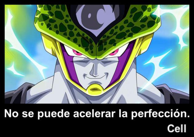 cell | Frase Dragon Ball
