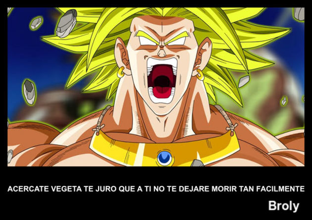 Broly | Frase Dragon