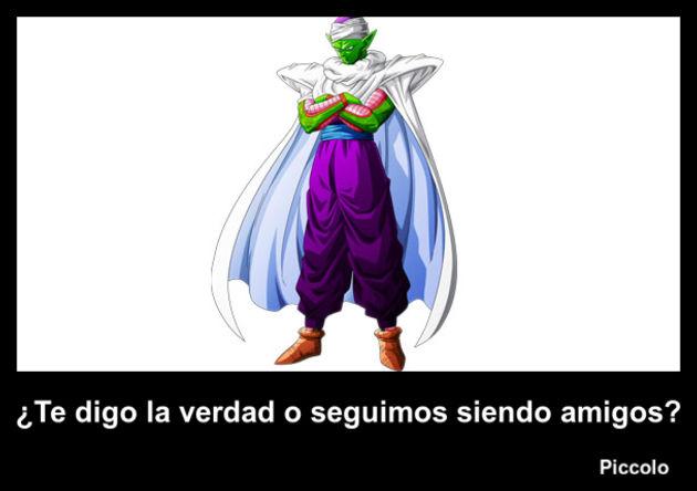 piccolo | Frase Dragon Ball
