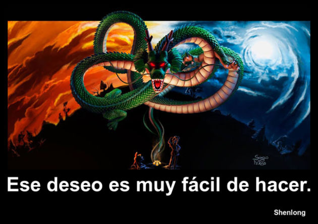 shenlong | Frase Dragon Ball