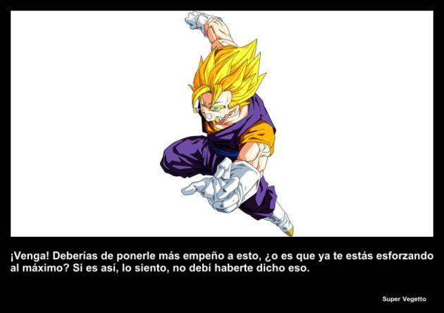 supervegetto   Frase Dragon Ball