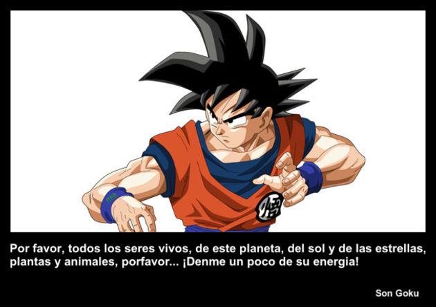 Son Goku | Frase Dragon