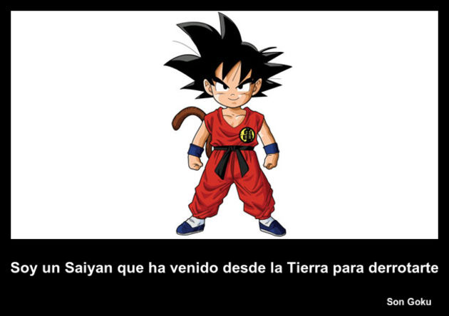 Son Goku | Frase Dragon