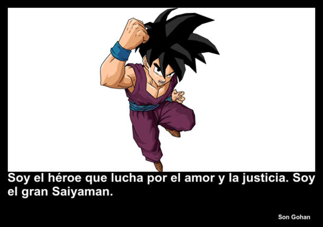 songohan | Frase Dragon Ball