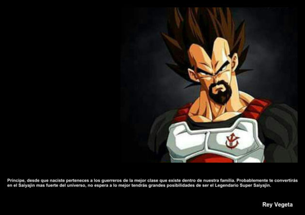 reyvegeta | Frase Dragon Ball