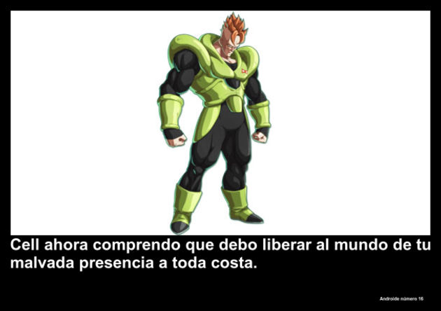 androidenumero16 | Frase Dragon Ball