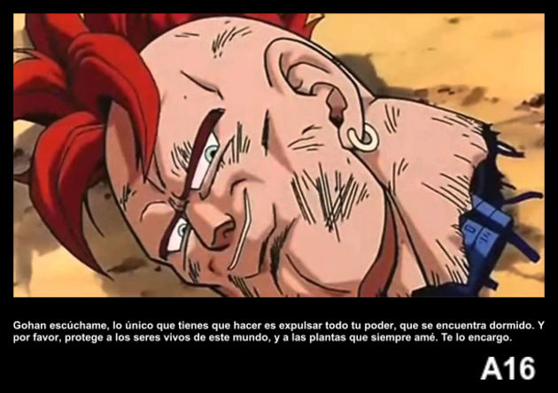 a16 | Frase Dragon Ball
