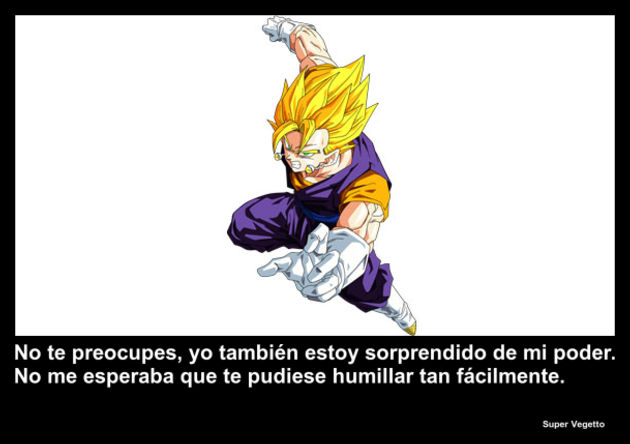Super Vegetto | Frase Dragon