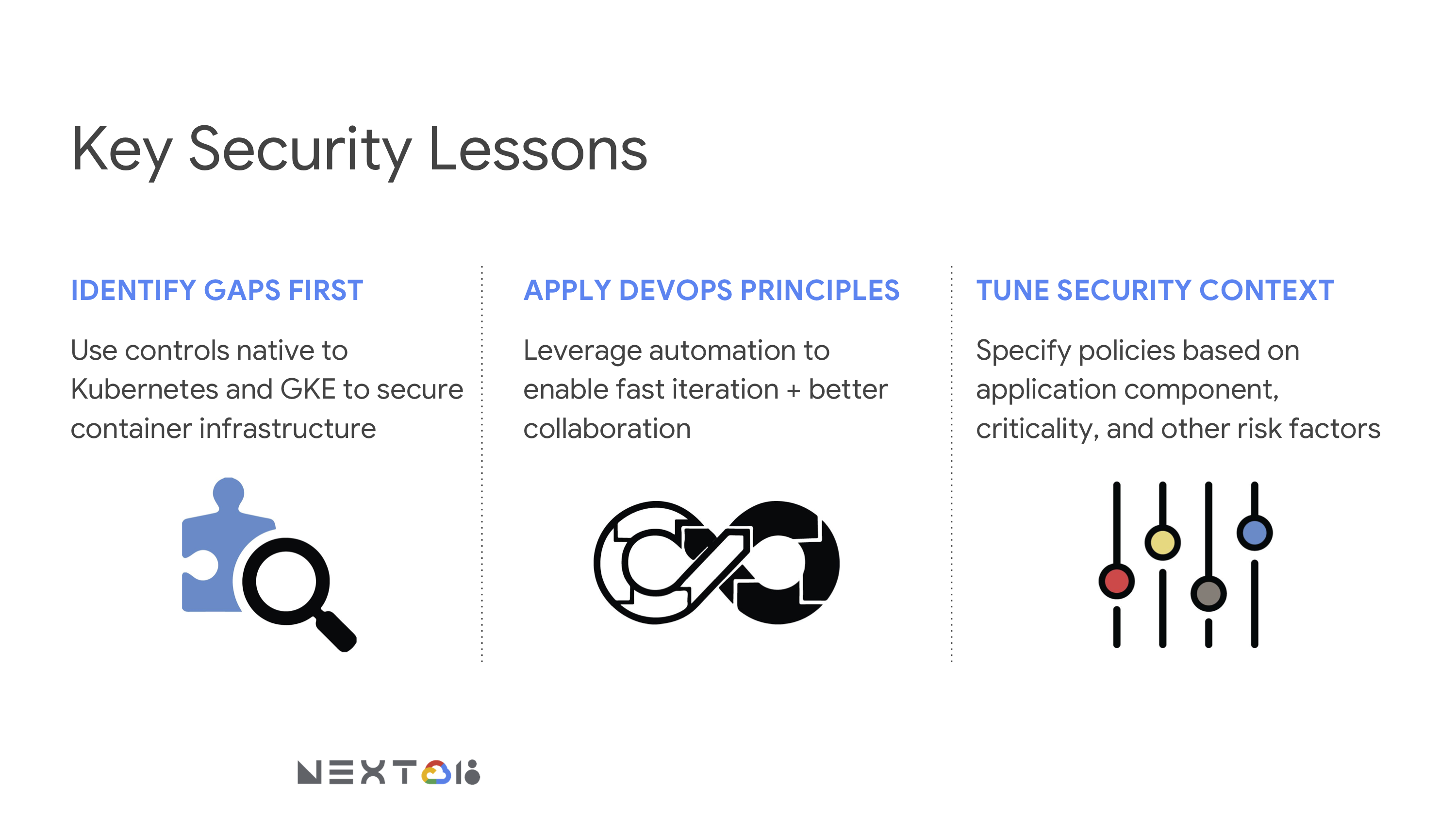 Google Next Talk: Kubernetes Security Threats and Solutions   StackRox
