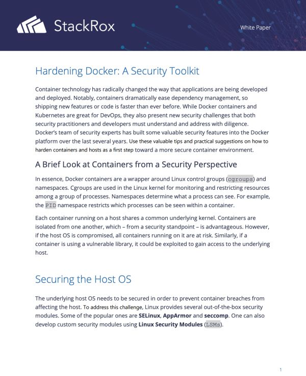 6 Container Security Best Practices You Should Be Following