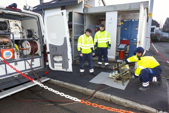 Kabelprüfung Messwagen Strom Leistungsmessung