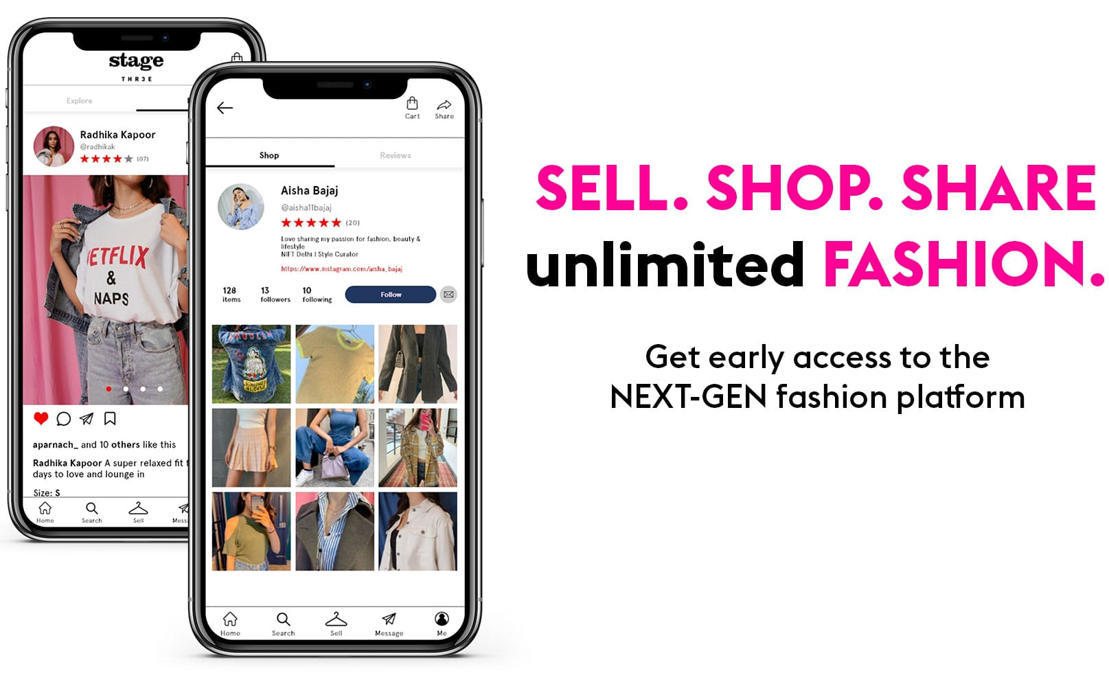 Sell. Shop. Share unlimited fashion