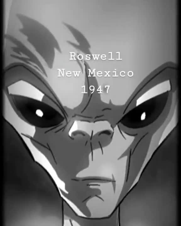 Roswell Alien -SKY GODZ animated series!