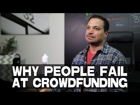 "Most Likely Reason Why People Fail At Crowdfunding Richard ""RB"" Botto (Stage 32 CEO)"