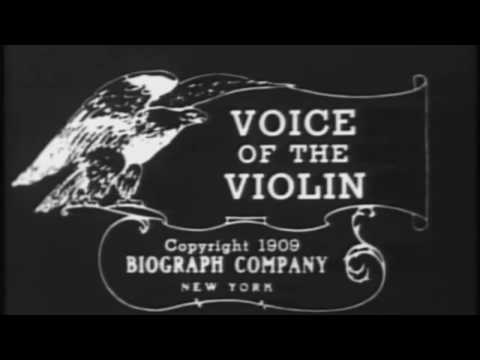 Voice of the Violin  by  D.W. Griffith (1909): Original Music by Sakis Petropoulos