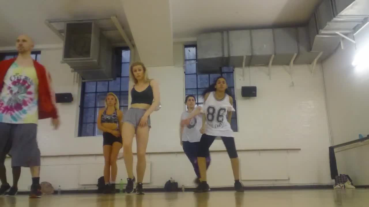 Commercial dance class choreo @ Pineapple Dance Studios (MOV_1601_000).mp4