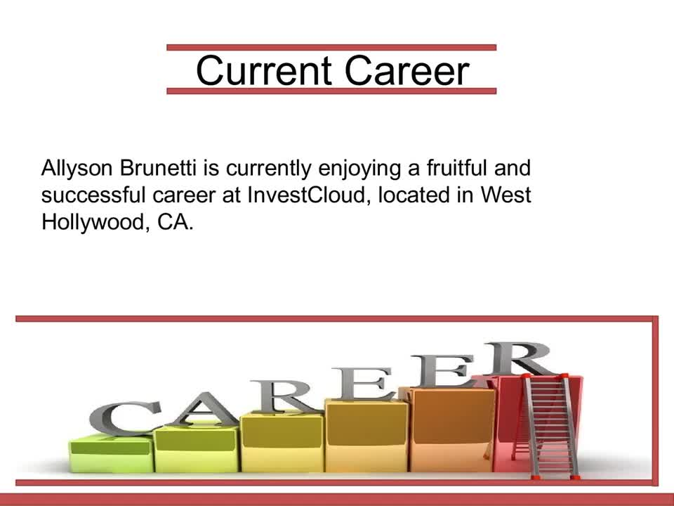 Allyson Brunetti Executive Vice President - Mp4