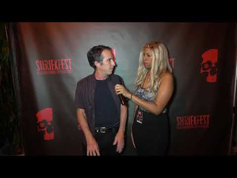 Shriekfest 2019 Interviews on the Red Carpet!  Michael Raymond gets interviewed!