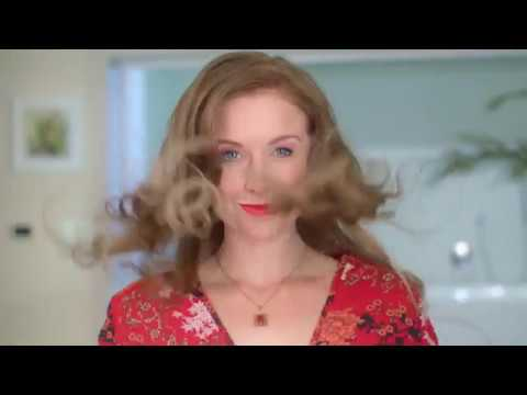 Tammany Barton in a  Vigro hair commercial