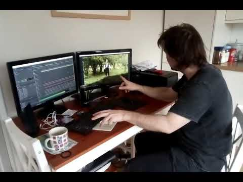 Post production on Devious Episode 2. Music and sound effects