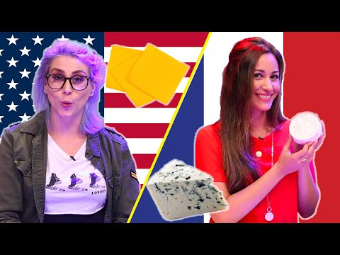 BUZZFEED - American & French People Swap Cheeses