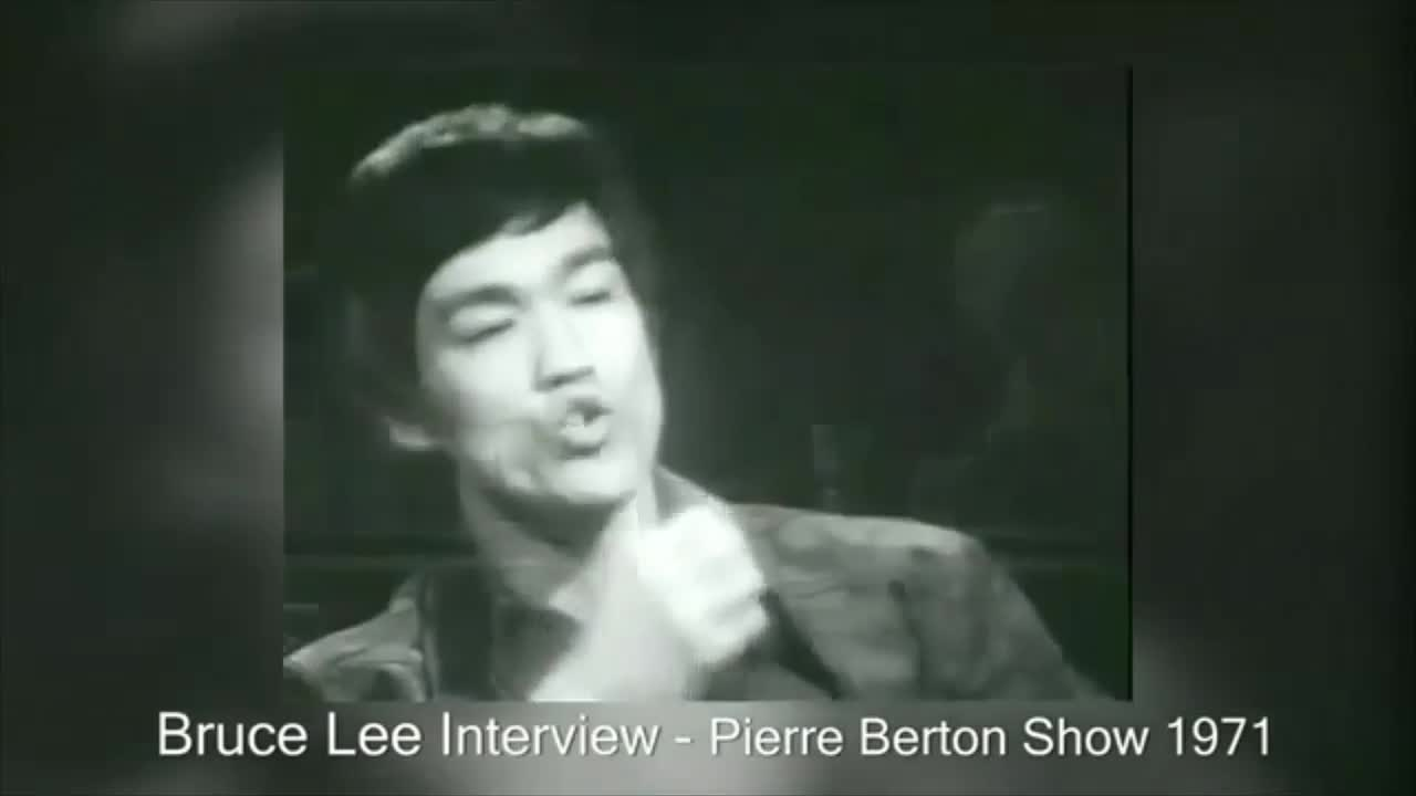 Bruce Lee on dialogue
