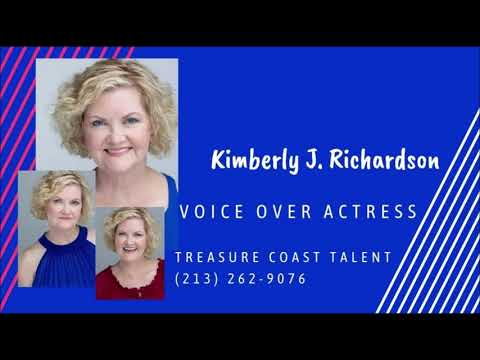 Voice Over Demo Reel - Kimberly J. Richardson