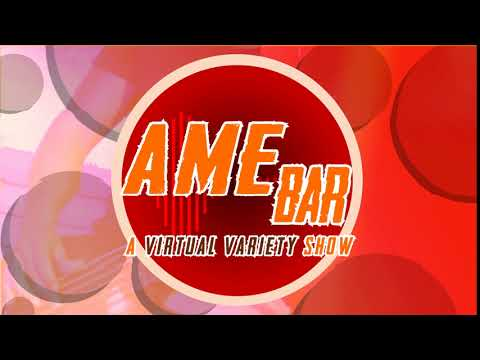 AME Bar: A Virtual Variety Show (Logo Concept Design)