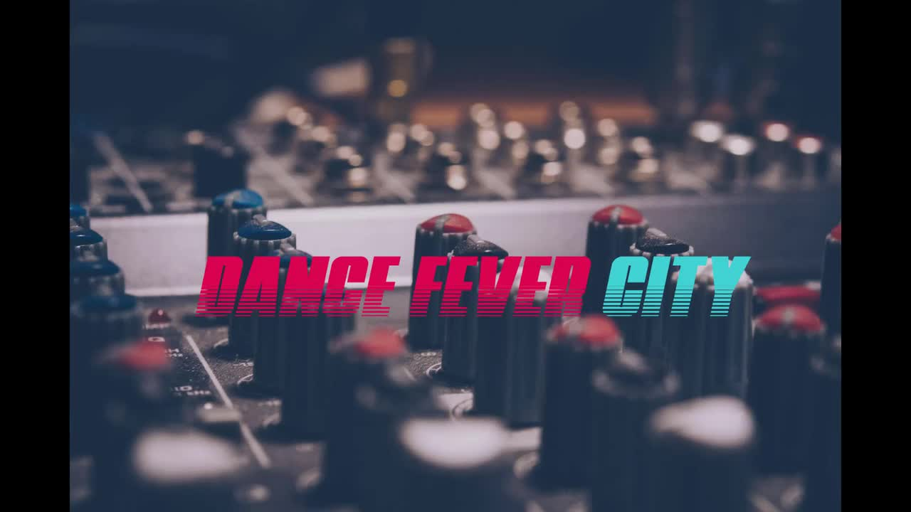 Dance Fever City Show intro music video..