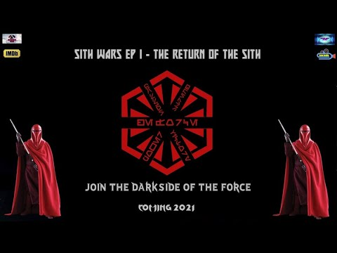 1º INTERNATIONAL TRAILER - SITH WARS EP I - THE RETURN OF THE SITH - 2021