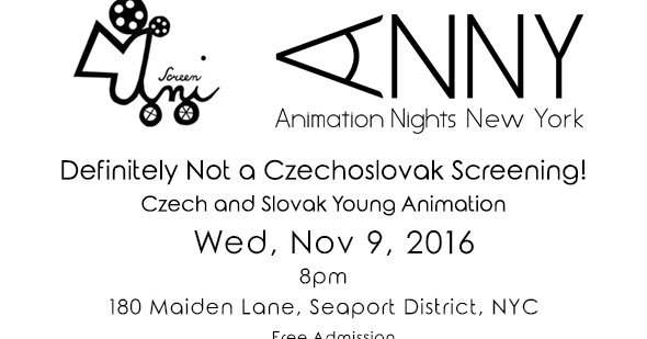 Definitely Not a Czechoslovak Screening!