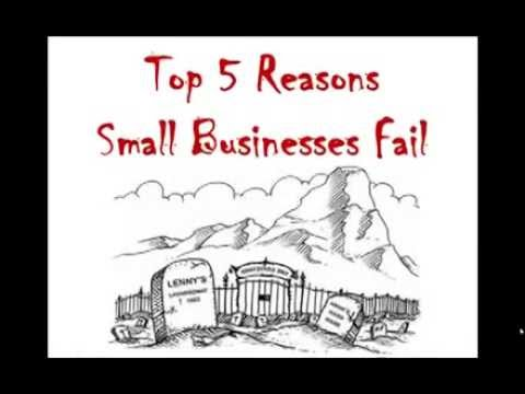 Top 5 Reasons Why Small Business Fails | Carl Kruse