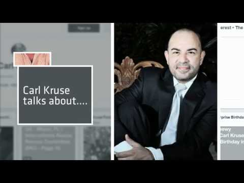 Carl Kruse Talks About Kazhir Khan's Presentation