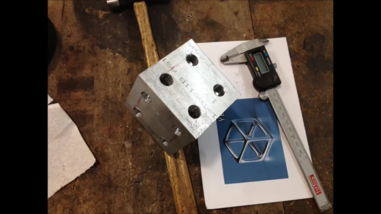Metal Cube Fabrication