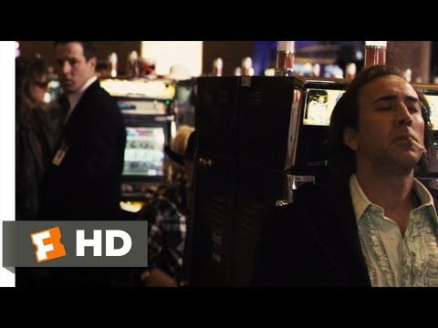 """Next"" Movie CLIP with Nicolas Cage shot at the Morongo Casino Resort and Spa in Cabazon,  CA"
