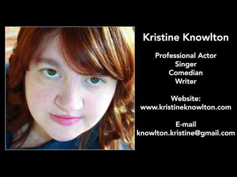Reptile Dysfunction Comedian Kristine Knowlton