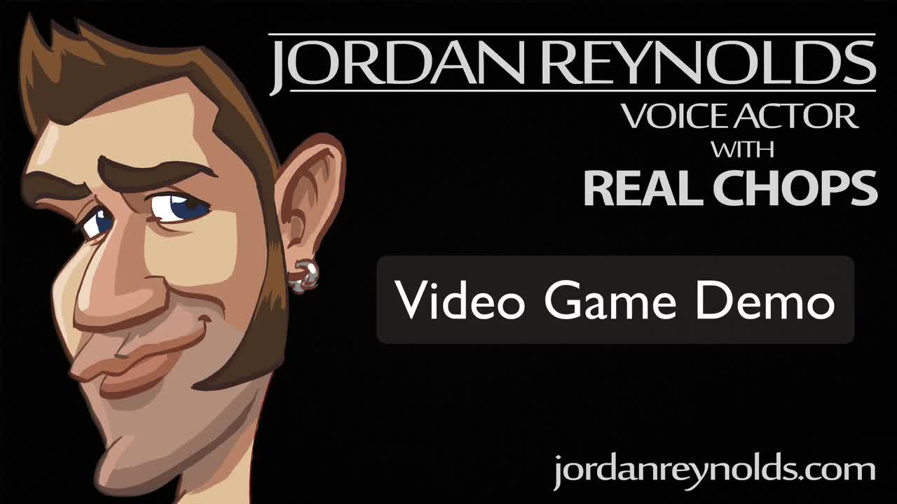 Video Game Demo Reel - Jordan Reynolds Voice Actor