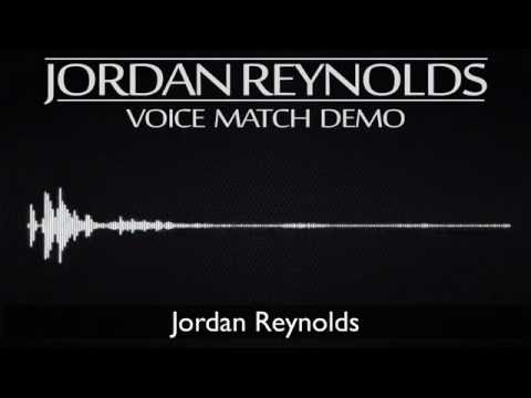 Voice Match and ADR Demo - Jordan Reynolds Voice Actor