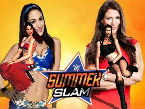 How I see Stephanie McMahon & Brie Bella  fight @ SummerSlam in my head