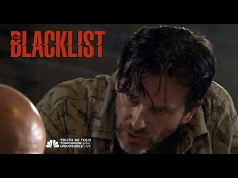 Scene from The Blacklist starring John Tague