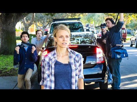 BEHIND THE SCENES: first feature film shot entirely on Prius backup camera.