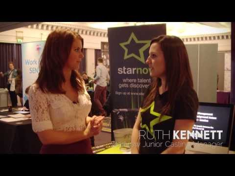 Interviews with exhibitors & attendees at Surviving Actors London 2014