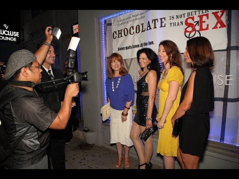 Red Carpet Interviews, Chocolate is Not Better than Sex
