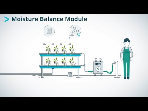 Priva Moisture Balance Module | Increased production by optimal water dosing