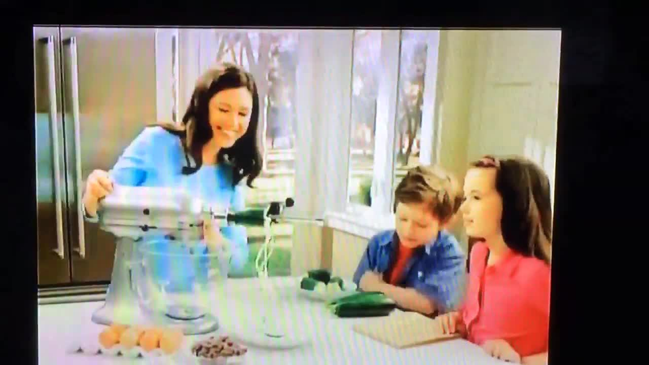 Kitchen Aid mixer commercial