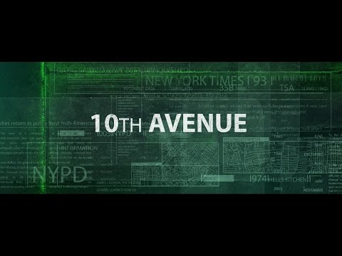 10th Ave Opening Title Sequence
