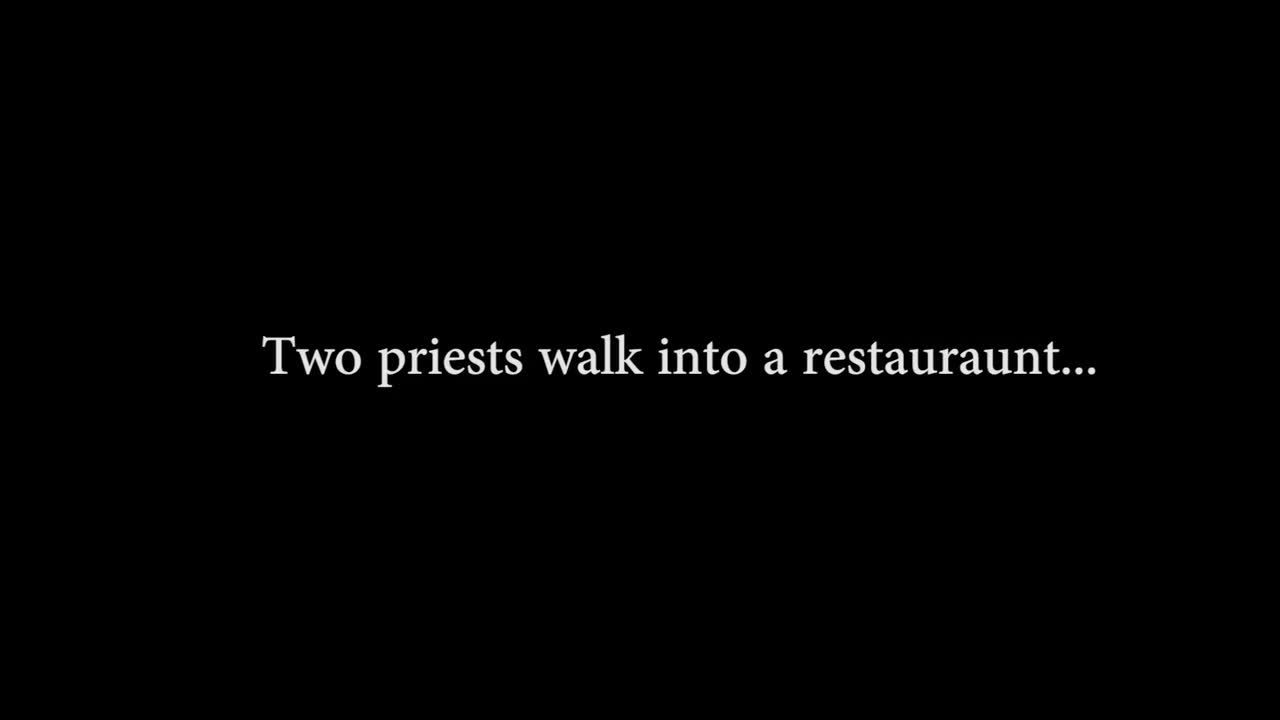 Two Priests in a Resteraunt Trailer.mp4